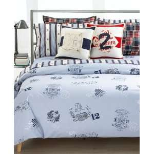 Lauren Ralph Lauren University Ellis Blue Full/Queen Comforter