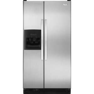 Stainless Look Refrigerator, Textured Door Design, Short: Appliances