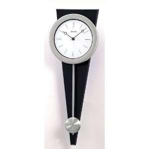 Seiko Modern Black Pendulum Wall Clock