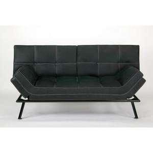 Matrix Convertible Black Sofa Bed by Lifestyle