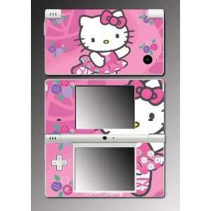 Girl Cat Kitten Vinyl Decal Cover Skin Protector #7 for Nintendo DSi