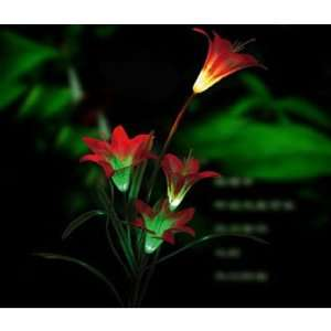 Solar Powered LED Garden Stake Path Accent Light NEW