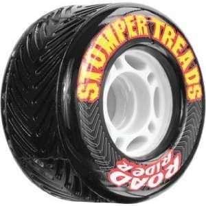 Santa Cruz Road Rider Stomper Treads 70mm 78a Black Wheels