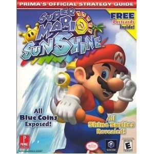 Super Mario Sunshine Primas Official Strategy Guide