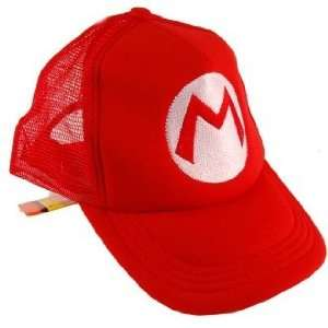 Nintendo Super Mario Trucker Hat Mario Red Toys & Games