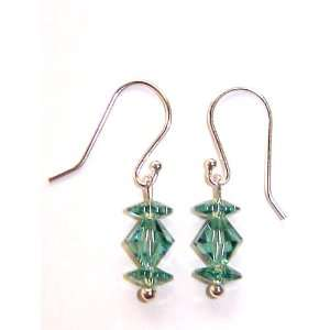 Earrings with Swarovski Crystal   Erinite Arts, Crafts & Sewing