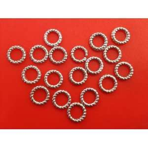 Tibetan Silver Spacer Metal Bead Jewelry Findings Arts, Crafts