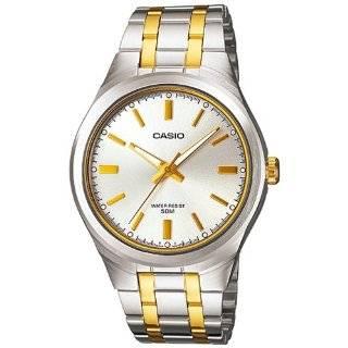 Casio Mens MTP1310SG 7AV Silver Stainless Steel Quartz Watch with