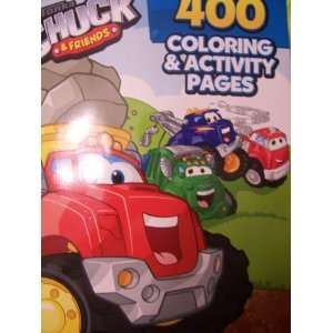 Tonka Chuck & Friends 400 Page Coloring & Activity Book Toys & Games