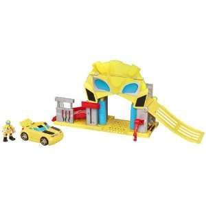 Bumblebees Rescue Garage Transformers Rescue Bots Playset  Toys