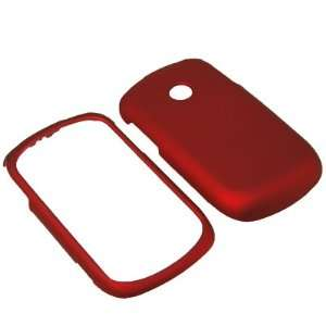 On Case for Tracfone, Net 10 LG 800G  Red: Cell Phones & Accessories