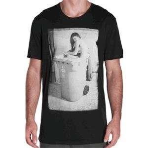 Unit White Trash T Shirt   Large/Black Automotive