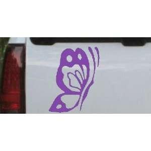 9in    Butterfly Side Butterflies Car Window Wall Laptop Decal Sticker