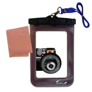 Dry Waterproof Protective Case for the Coby CAM3002 SNAPP Camcorder