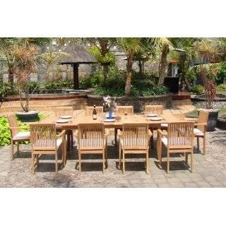 Table And 10 Stacking Arm Chairs [ Model LU2] Patio, Lawn & Garden