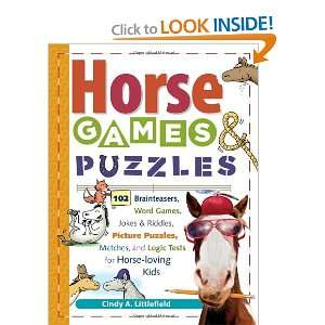 Horse Games & Puzzles for Kids: 102 Brainteasers, Word Games, Jokes