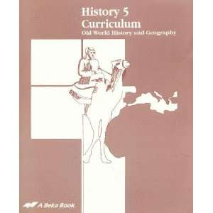 Old World History and Geography (Teacher Guide / Curriculum) Books