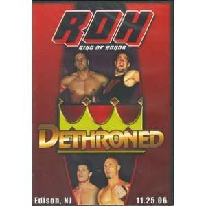 ROH  Ring of Honor Wrestling Dethroned DVD 11.25.06