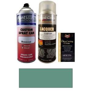 Oz. Blue Green Metallic Spray Can Paint Kit for 1990 Volvo 764 (402