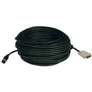 100 EZ Easy Pull DVI D Single Link Monitor Cable w/ Connectors   100ft