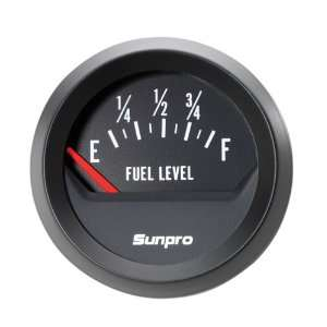 Sunpro CP8219 StyleLine Electrical Fuel Level Gauge