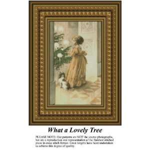What a Lovely Tree, Cross Stitch Pattern PDF Download