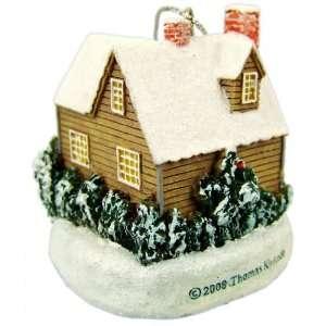 Thomas Kinkade Christmas Cottage Ornament   2007