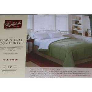 Full/Queen Bed Down Free Blanket Green Warm Comforter