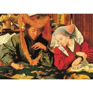 Banker and His Wife Reymerswaele Jigsaw Puzzle 1500pc Toys & Games