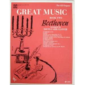 Great Music Beethoven (For All Organs) (Book 2) (Dollar