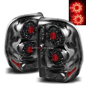 02 09 Chevy Trail Blazer LED tail lights   Smoke Automotive