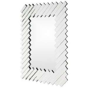 Gentry Diagonal Accents 43 High Wall Mirror Home