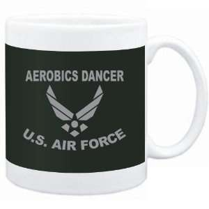 Mug Dark Green  Aerobics Dancer   U.S. AIR FORCE  Sports