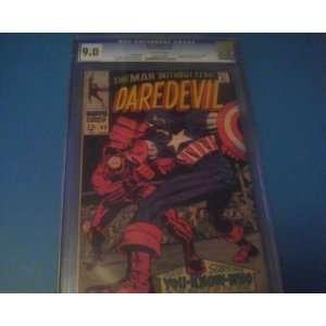 Origin of Daredevil Retold. Stan Lee story, Jack Kirby cover Books