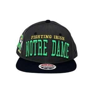 Superstar University Of Notre Dame Fighting Irish Snapback Hat Grey