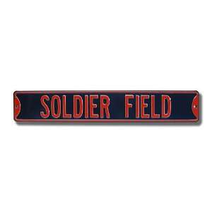 Chicago Bears Soldier Field Street Sign Sports & Outdoors