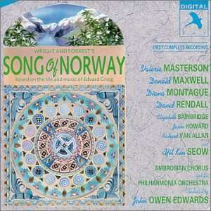 Song Of Norway (1990 London Studio Cast) Music