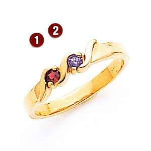 Rounds of Romance Ring/14kt yellow gold Jewelry