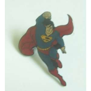 New Flying Superman Super Hero Metal Pin Badge Everything