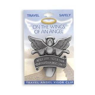 Drive Faster Than Your Guardian Angel Can Fly Car Charm: Automotive