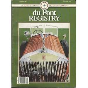 Dupont Registry Magazine February 1986 Rolls Royce! A
