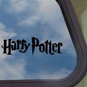 Harry Potter Black Decal Car Truck Bumper Window Sticker