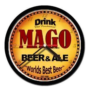 MAGO beer and ale cerveza wall clock: Everything Else