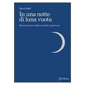 In una notte di luna vuota. Educare pensieri metaforici