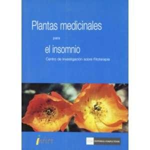 Plantas medicinales para el insomnio (9788474919301