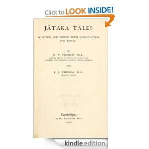 Jataka tales (1916) (illustrated): Thomas E. J. Francis: