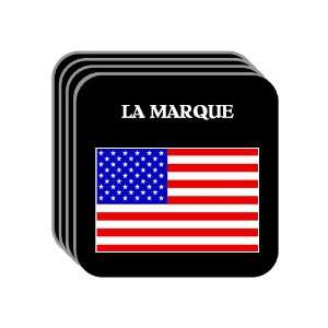 US Flag   La Marque, Texas (TX) Set of 4 Mini Mousepad