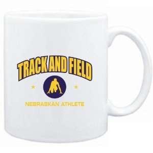 Mug White  Track & Field   Nebraskan Athlete  Usa States