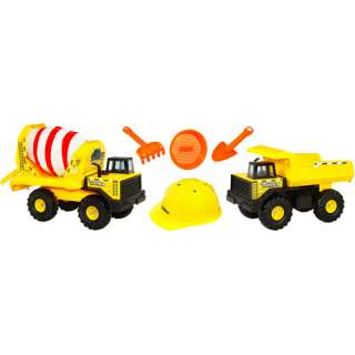 Tonka Classics Dump Truck and Cement Mixer