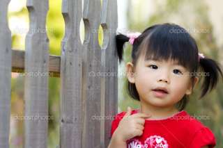 Cute little Asian Chinese girl  Stock Photo © shirotie #1412324